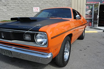1970 plymouth duster hot rod city hot rod city. Black Bedroom Furniture Sets. Home Design Ideas