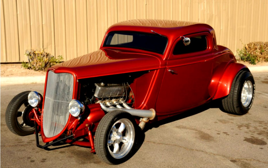1933 Ford Coupe - Hot Rod City - Hot Rod City