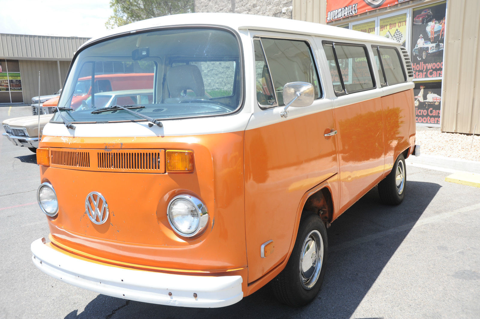 6af6ef36ec 1974 Volkswagen Bus Vanagon Bus Van Transporter Kombi - Hot Rod City ...