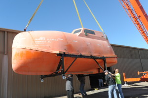 Lifeboat from Oscar Nominated Film CAPTAIN PHILLIPS
